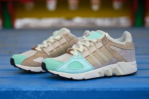 Кроссовки Adidas Equipment Running Guidance 93 LT. Green
