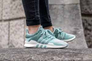 Кроссовки Adidas EQT RUNNING SUPPORT 93 white/GREEN