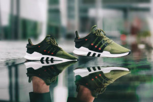 Кроссовки ADIDAS EQT Support ADV (Cargo Green)