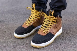 "Кроссовки Nike Lunar Force 1 Duckboot ""Brown/Anthracite"""