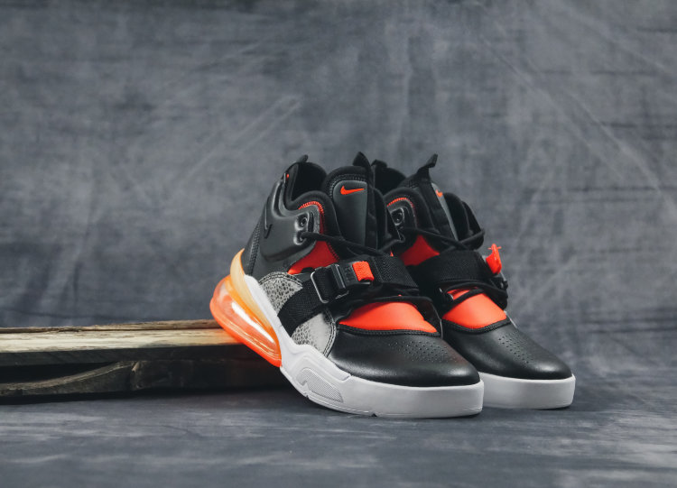 Кроссовки Nike Air Force 270 black/orange