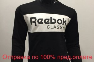 Кофта Reebok Black\White