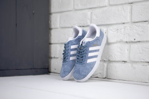 Adidas Gazelle wmns blue/white