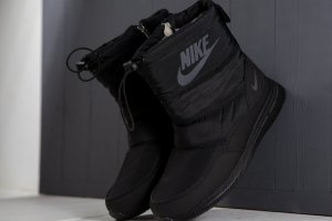 Сапожки Nike winter black