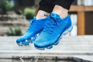 Кроссовки NIKE AIR VAPORMAX FLYKNIT Turquoise blue