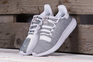 Кроссовки Adidas Tubular shadow knit White\Grey
