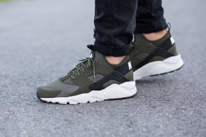 Кроссовки Nike Air Huarache Run ultra Army Green