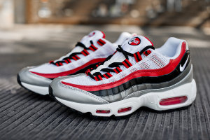 Кроссовки Nike Air Max 95 White\Red