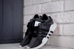 Кроссовки Adidas EQT Support ADV black/white/red