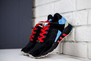 Кроссовки Adidas Equipment Running Sup 93 Black\red\lt.blue