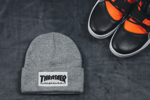 Шапка Thrasher gray