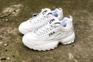 Кроссовки Fila Disruptor 2 white winter 1