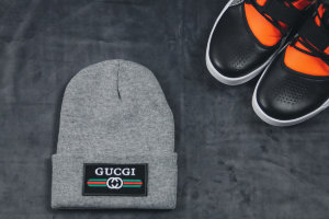 Шапка Gucci gray