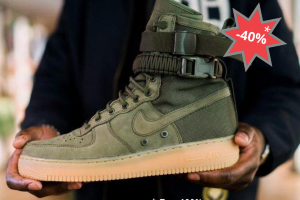 Кроссовки Air Force SF AF1 army green