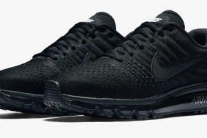Кроссовки Nike Air Max 2017 RUNNING  BLACK/ANTHRACITE/BLACK