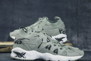 Кроссовки Asics GEL-MAI KNIT dark green/black