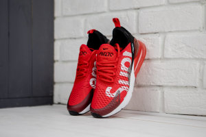 Кроссовки AIR MAX 270 FLYKNIT red/white