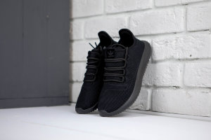 Кроссовки Adidas tubular shadow knit black
