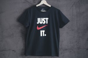 Футболка Nike JUST IT black