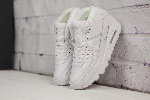 3dd84ea2 Кроссовки Nike Air Max 90 winter( с мехом высокие)
