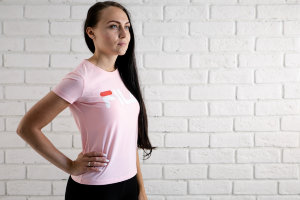 Футболка Fila light pink