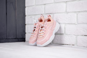 Кроссовки FILARAY pink/white