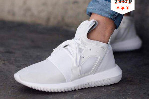 Кроссовки Adidas Tubular Radial All White