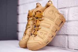 Кроссовки Nike Air More Uptempo gold