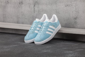 Кеды Adidas Gazelle wmns light blue