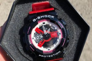 Часы Casio G-SHOCK Black/Pink