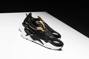 Кроссовки Puma RS-X Trophies black\gold
