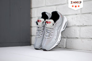 Кроссовки Nike AIR MAX 95 SILVER/WHITE