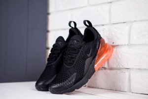 Кроссовки Nike Air Max 270 Flyknit Black Red