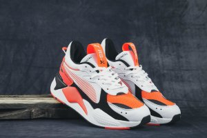 Кроссовки Puma RS-X Reinvention white/orange
